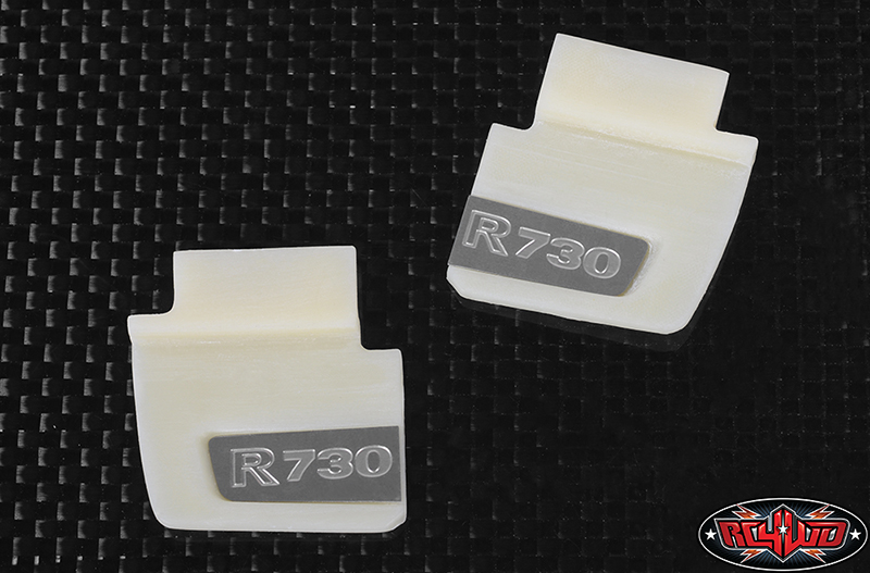 Spoiler with R730 logo for Tamiya 1/14 Scania