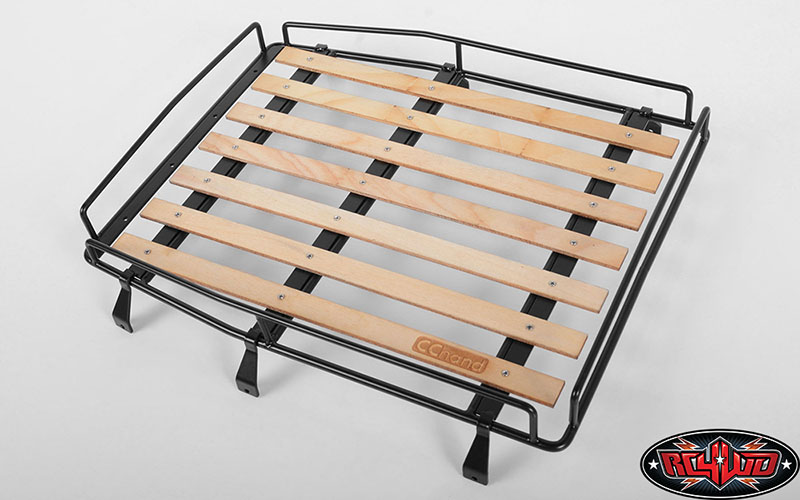 Wood Roof Rack For Rc4wd Cruiser Body