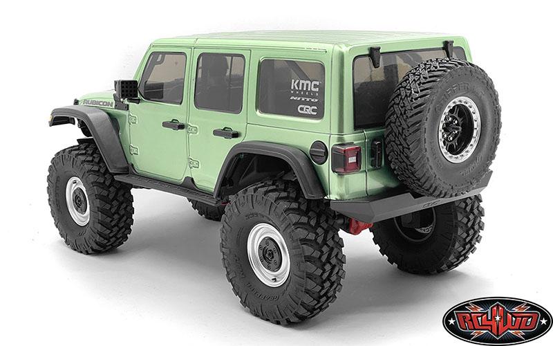 1//10 Metal Tire Rack Spare Tires Bracket Wheel Holder Carrier for SCX10 Tamiya