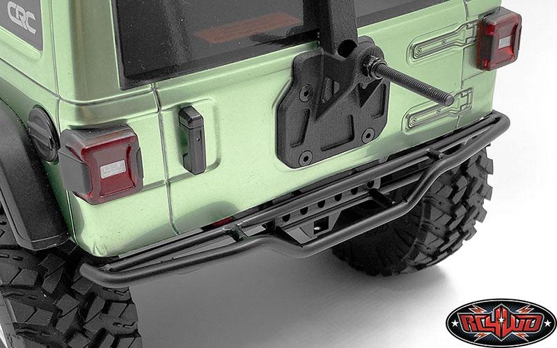 Metal Rear Bumper Änderung Kit für 1//10 Axial SCX10 iii AX103007 RC Crawler Auto