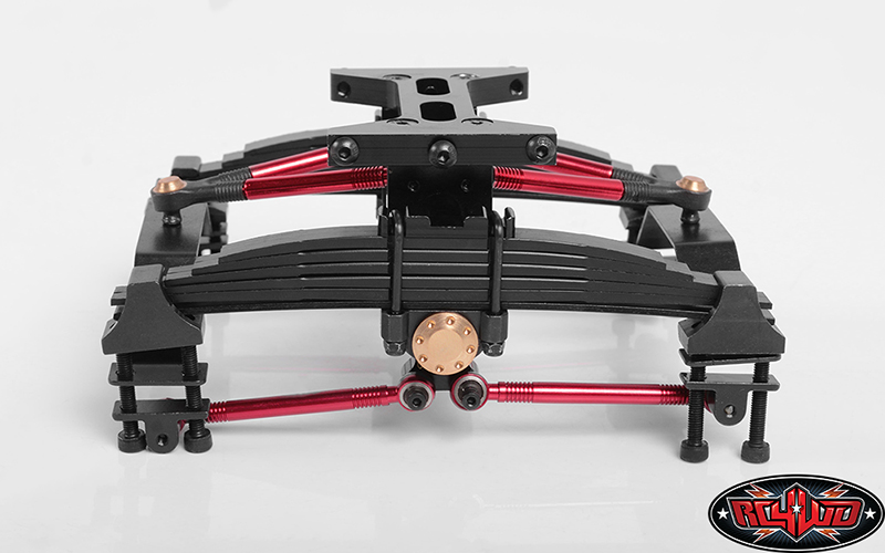 1/14 Transverse Stretching Rear Suspension System for Euro Style Trucks V2