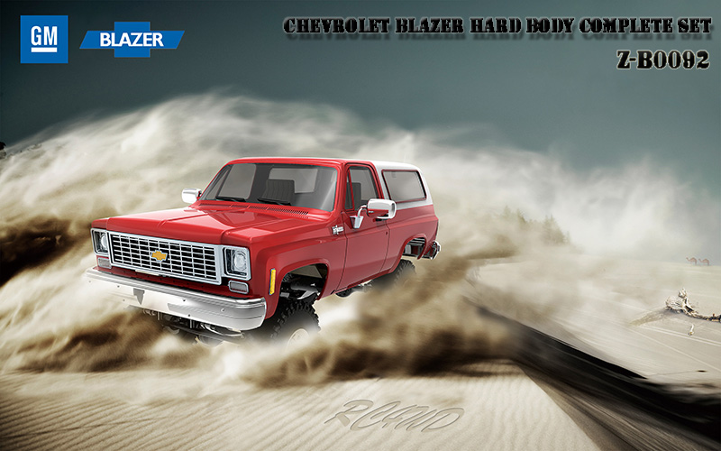 RC4WD Chevrolet Blazer Hard Body Complete Set