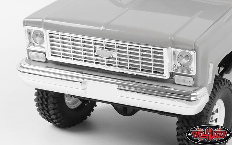 Scalemonkey FRONT BUMPER FOR RC4WD Blazer Body