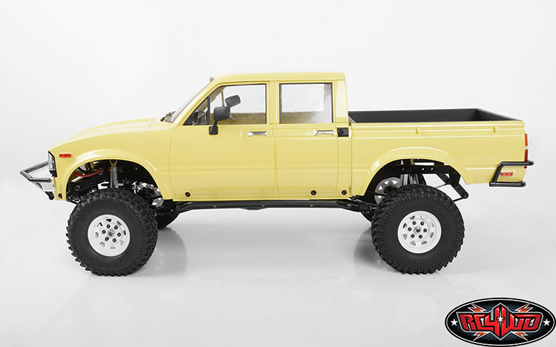 Z B0206 Rc4wd Mojave Ii Four Door Complete Body Set Tan