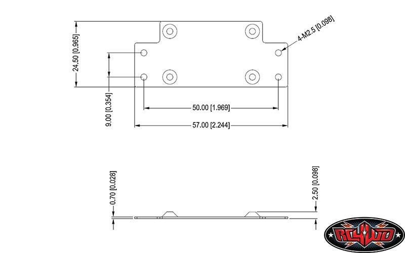 RC4WD 1//8 Warn Zeon 10 Winch Z-E0069 Scale Winch .