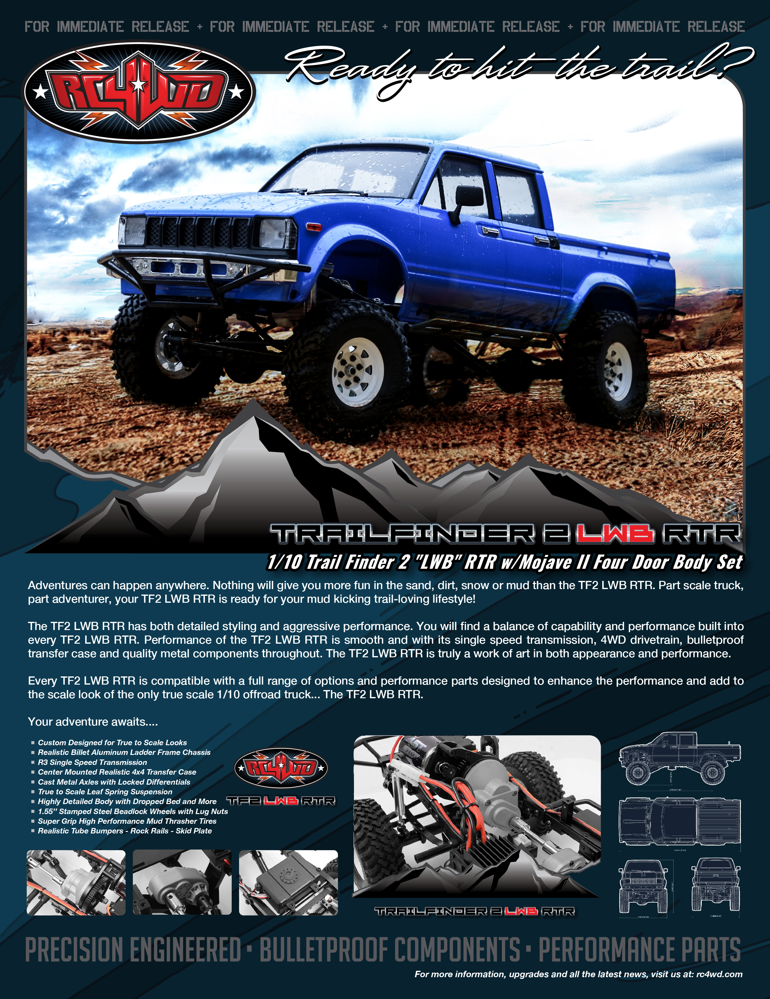 RC4WD Trail Finder 2
