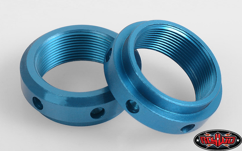 RC4WD Lower, Center and Threaded Spring Retainer for King Offroad Shocks