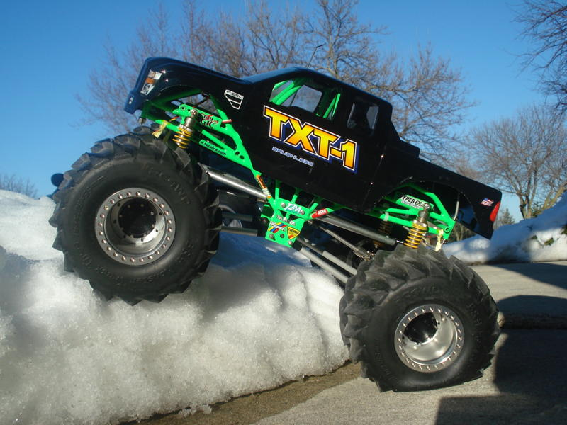 B H Monster Truck Clod Tires